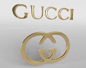 Gucci Logo 01 3D asset