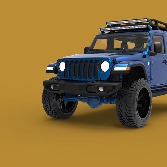 Duramax Jeep