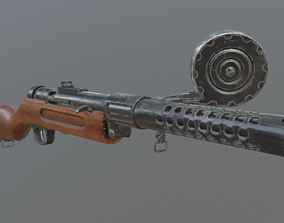 3D model Bergmann MP18