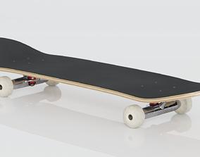 3D model Skateboard rollerblade