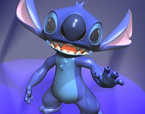 3D model Stitch Rigged Character