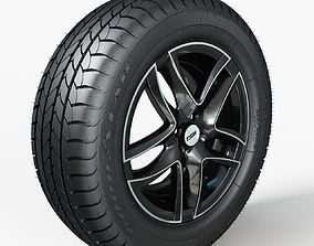 Rim and Tire R16 3D model