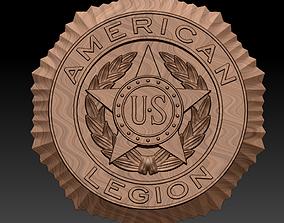 3D printable model American legion