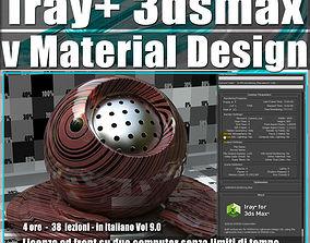 Iray piu in 3dsmax 2017 vMaterial Design Vol 9 Cd Front
