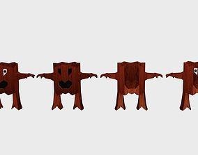 3D model Cartoon Willow Character
