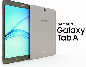 3D model Samsung Galaxy Tab A 9 Smoky Titanum