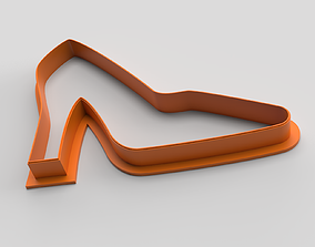 Cookie cutter - Shoes 3D printable model