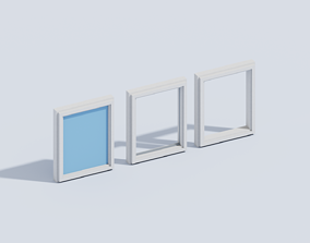 3D asset Voxel Window T1