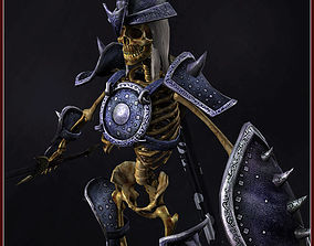 3D model Skeleton Hero Veteran