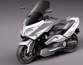 Yamaha T-Max 2008-2012 3D model