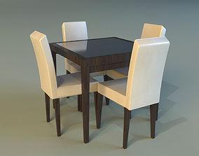 Table wood platen 3D