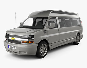 3D model Chevrolet Express Explorer Limited SE LWB 2019