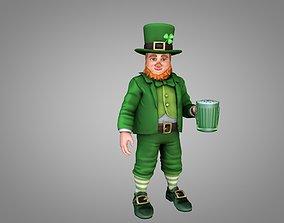 Leprechaun Saint Patrick 3D model