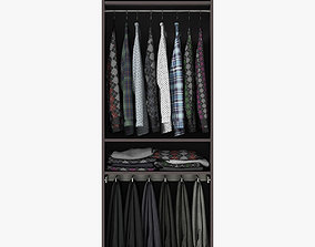 3D Wardrobe with Clothes other