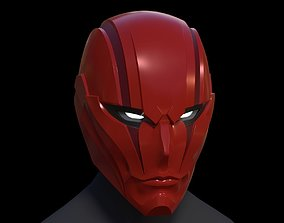 Red Hood Helmet hobby 3D print model