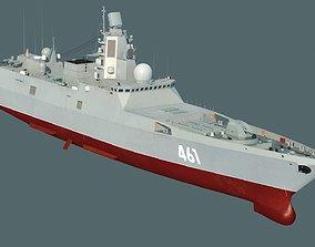 Admiral Gorshkov class frigate 22350 3D model