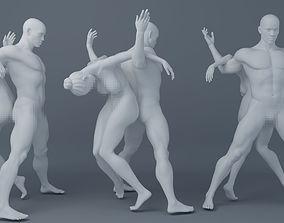 3D print model Double dancer one