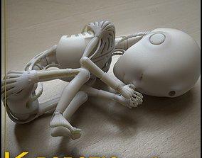 3D printable model Robot 01 embryo