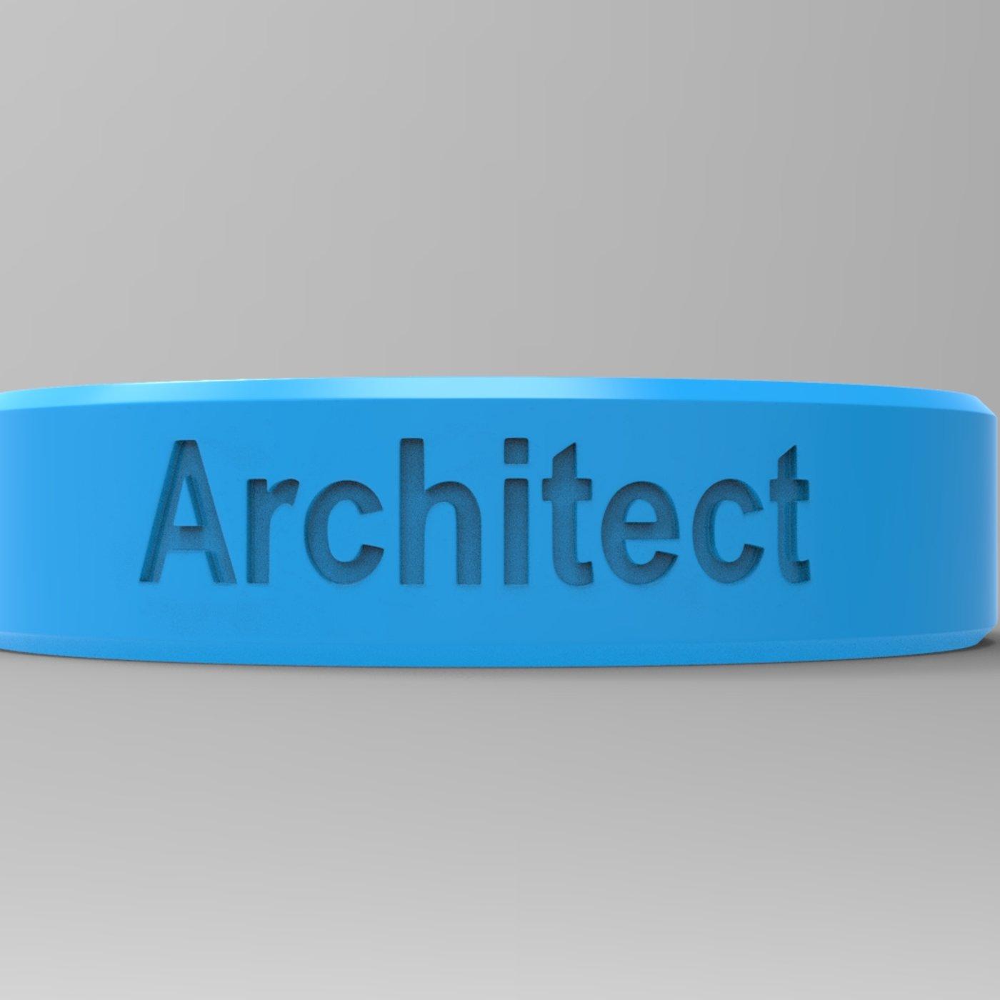 Architect Ring Blue