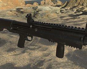 Shotgun 3D model wick