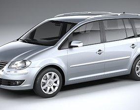 Volkswagen Touran 2007-2011 3D model