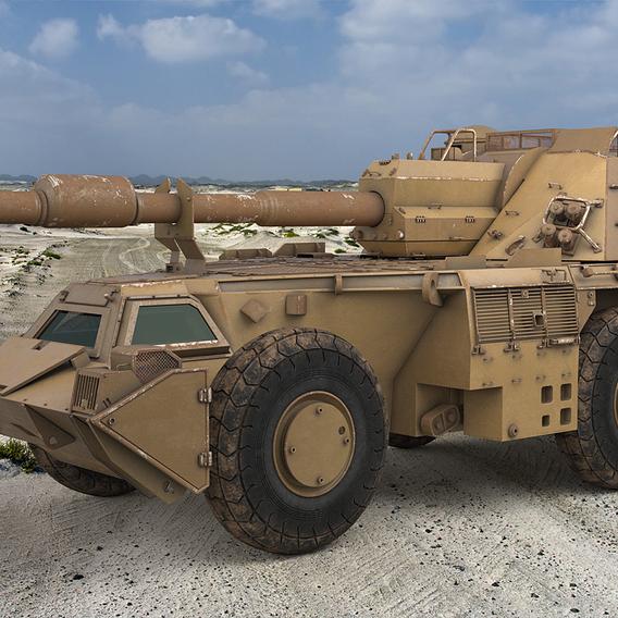 G6 Rhino Vray 3D model