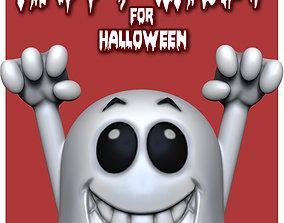 Halloween Ghost 3D Printable