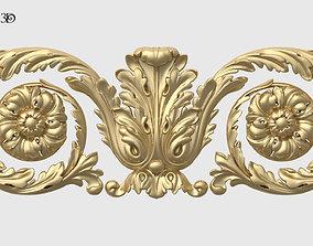 Frieze Acanthus Set 3D printable model