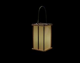 Medieval Lamp 3D asset