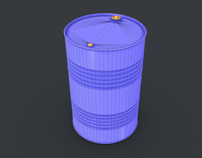 Barrel with - golden ratio 3D model