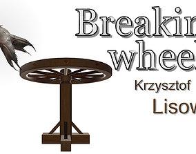 3D model PBR Breaking wheel