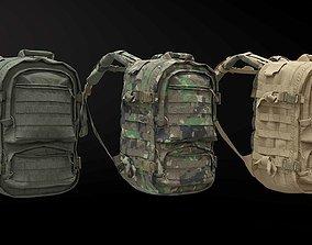 SOLDIER Backpack Tactical Pegasus 3D model