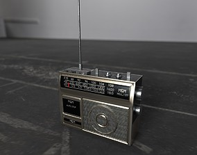 3D model realtime poly RADIO