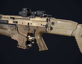 3D asset FN SCAR-L-H - EGLM