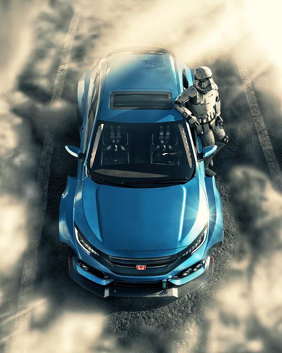civic hatchback 2017 body kit