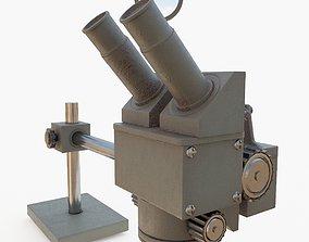3D model Lab microscope