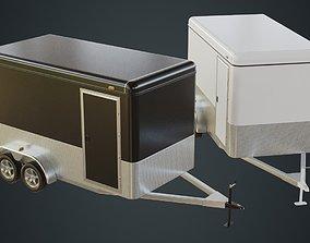3D model Cargo Trailer 1A