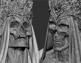 Skull Face fantasy 3D printable model