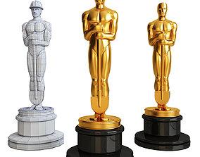 Oscar with a shovel 3D print model