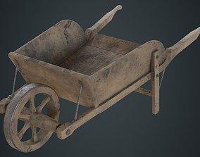 Wheelbarrow 4D 3D asset