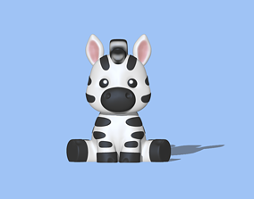 A cute Zebra to decorate and 3D printable model