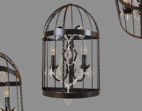 LOFT IT Vintage birdcage LOFT1891W 3D