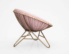 The Aurora Round Chair by Mia Fleur 3D