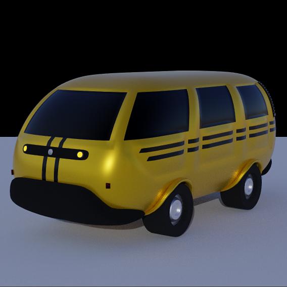 Danfo 3D Model