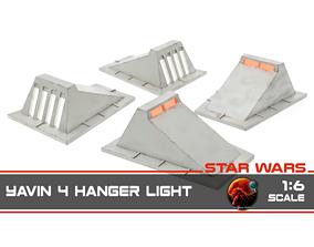 3D printable model Star Wars Yavin 4 Hanger light - 1-6 1