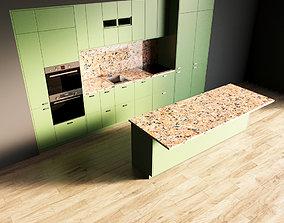 80-Kitchen8 matte 7 3D