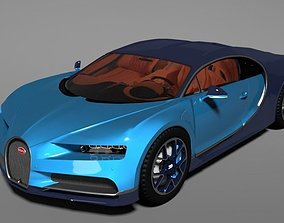Bugatti Chiron 2017 3D