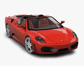 3D asset realtime Ferrari F430 Spyder