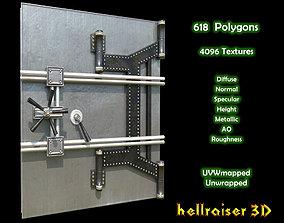Safe Door - PBR - Textured 3D asset