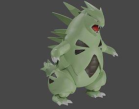 Tyranitar Pokemon 3D print model